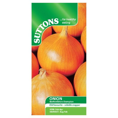 Suttons Onion Seeds - Bedfordshire Champion (173101)