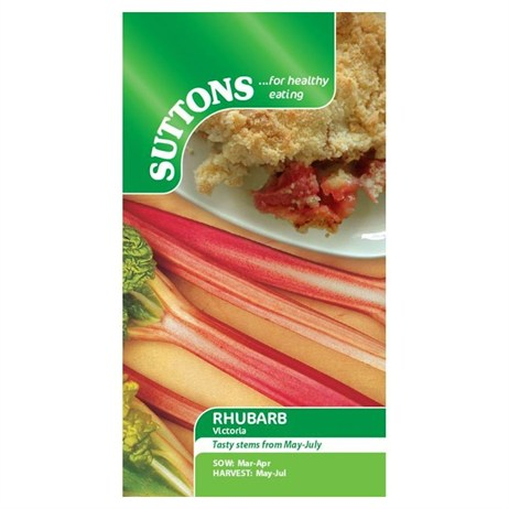 Suttons Rhubarb Seeds - Victoria (177294)