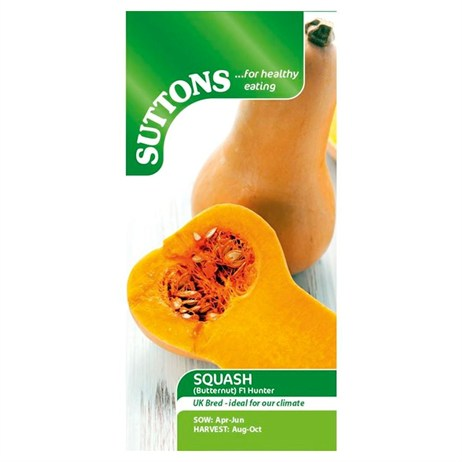 Suttons Squash Seeds - F1 Hunter (178878)