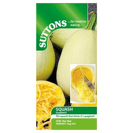Suttons Squash Seeds - Vegetable Spaghetti (178881)