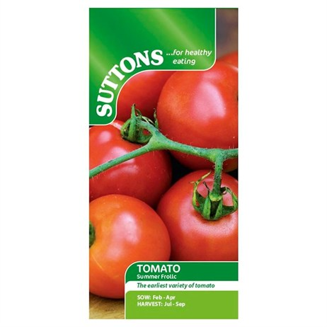 Suttons Tomato Seeds - Summer Frolic (180555)