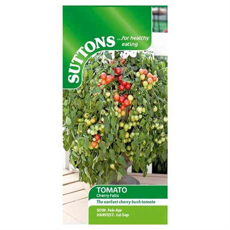 Suttons Tomato Seeds - Cherry Falls (180558)