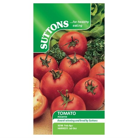 Suttons Tomato Seeds - Alicante (180583)