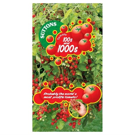 Suttons Tomato Seeds - Hundreds and Thousands (180648)