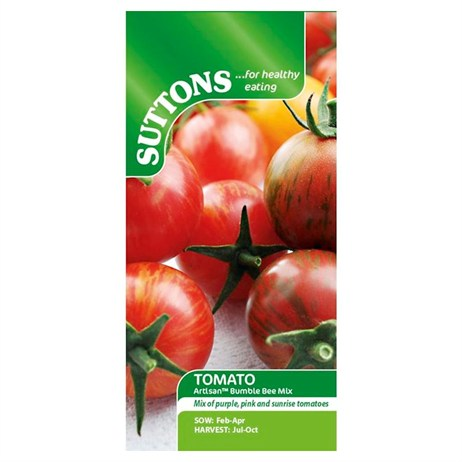 Suttons Tomato Seeds - Artisan Bumble Bee Mix (180855)