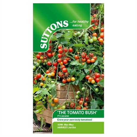 Suttons Tomato Seeds - F1 Lizzano (181350)