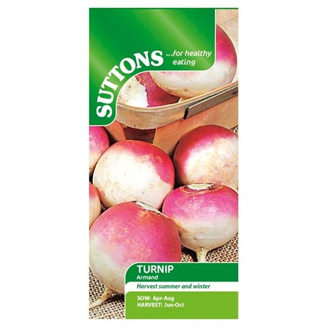 Suttons Turnip Seeds - Armand (182945)