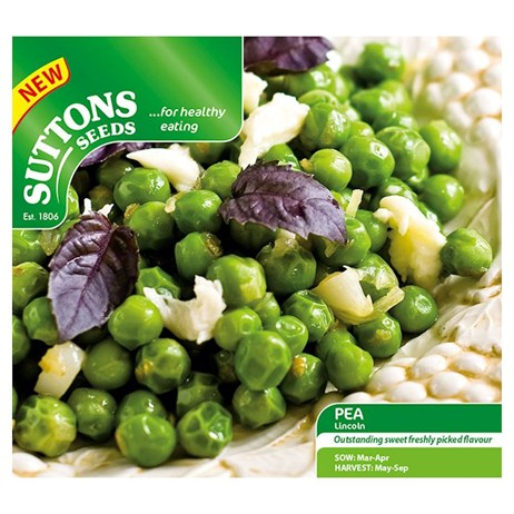 Suttons Pea Seeds - Lincoln (192100)