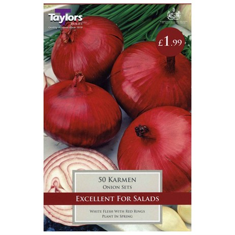 Taylors Bulbs Onion Karmen (50 Pack) (VP217)