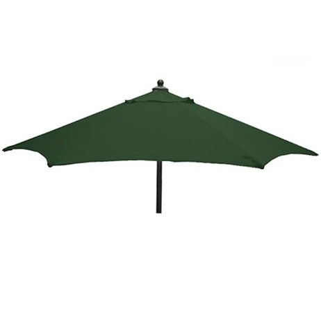 Sturdi Plus Aluminium 2m Push-Up Parasol - Green
