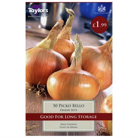 Taylors Bulbs Onion Picko Bello (50 Pack) (VP267)