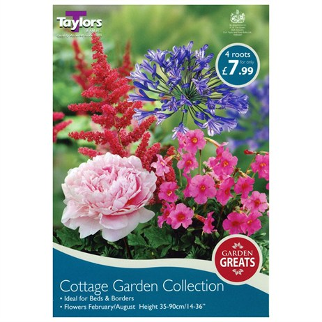 Taylors Bulbs Cottage Garden Collection (4 Pack) (SV302)