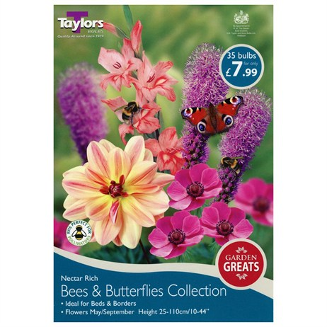 Taylors Bulbs Bees And Butterflies Collection (35 Pack) (SV303)