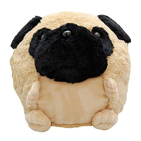 Cozy Time 30cm Plush Pug Handwarmer (46189)
