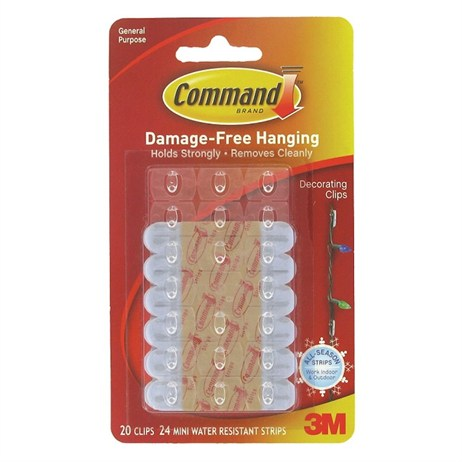 Command Outdoor Decorating Clips 17026H (4374)