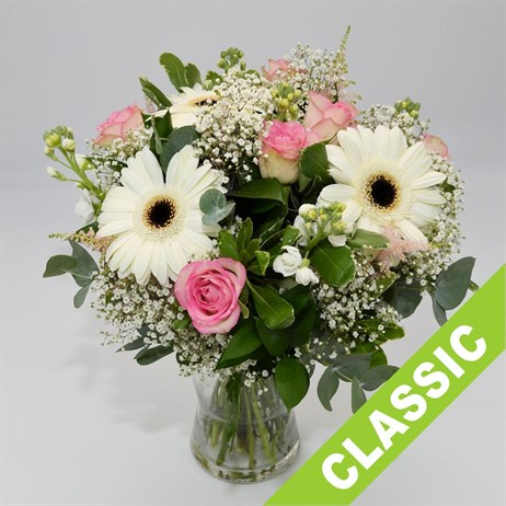 Baby Girl Hand Tied Bouquet - Premium