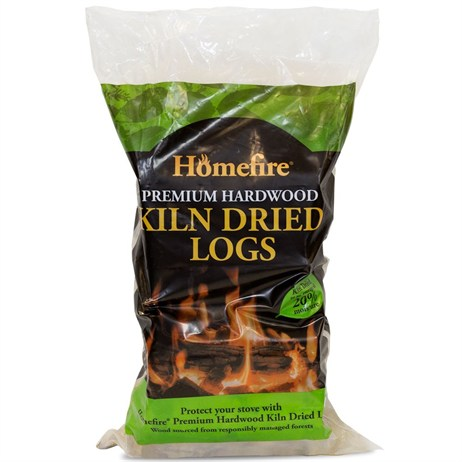 Kiln Dried Hardwood Logs - Medium Bag (8-10kg Approx) (530510)