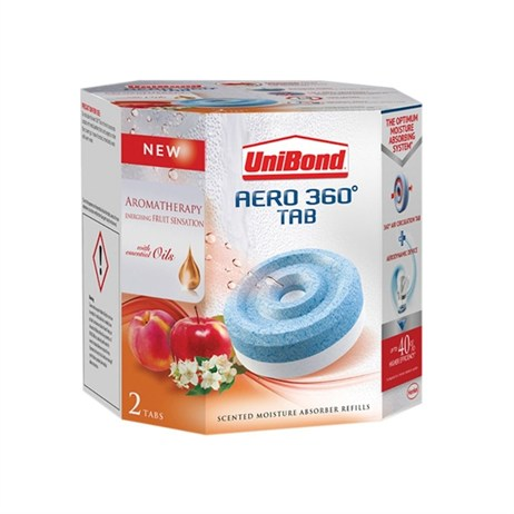 UniBond Aero 360 Humidity Absorber Fruit-Scented Refill (2 pack)