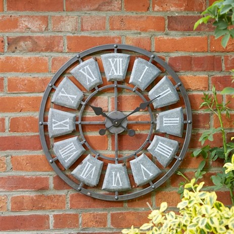 Outside In Lincoln Wall Clock (5161010)