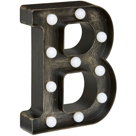 Lumieres Light Up Letters - B (3180312)