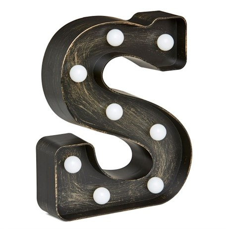 Lumieres Light Up Letters - S (3180329)