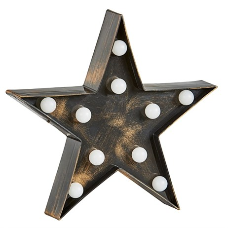 Lumieres Light Up Letters - Star (3180341)
