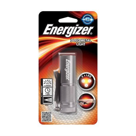 Energizer LED Metal Compact Torch (638842)
