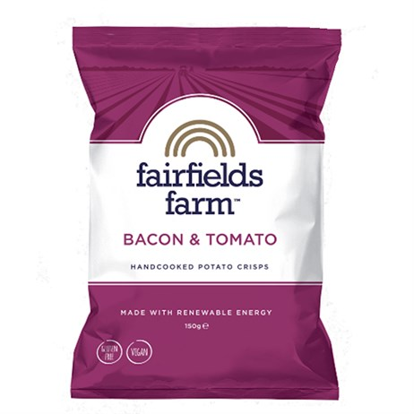 Fairfields Farm Crisps Bacon & Tomato 150g