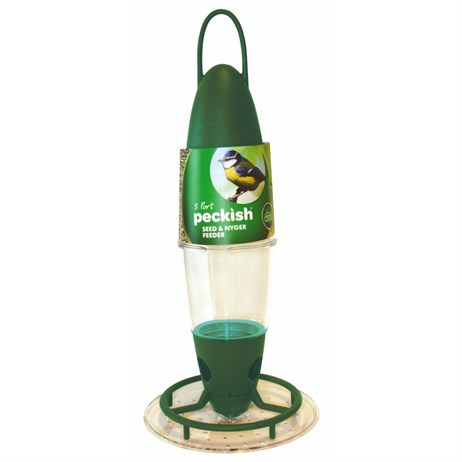 Peckish Seed and Nyger Feeder 3 Port (60053001)