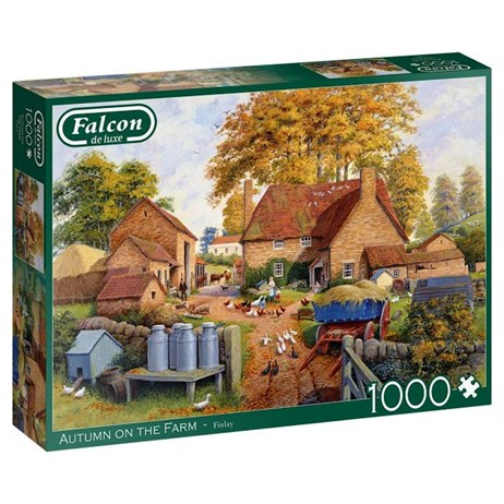 Jumbo 1000 Piece Jigsaw Puzzle - Autumn On The Farm (11274)