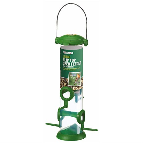 Gardman Large Flip Top Seed Feeder (A01235)