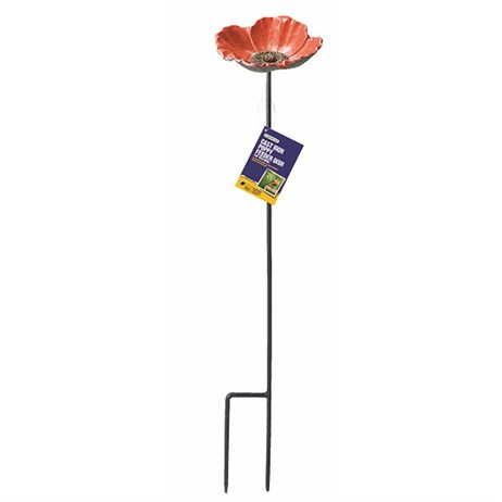 Gardman Cast Iron Poppy Feeder Dish (A01369)