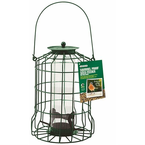 Gardman Squirrel Proof Seed Feeder (A01620)