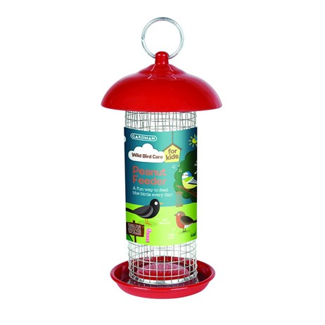 Gardman Peanut Feeder Red (A01906)