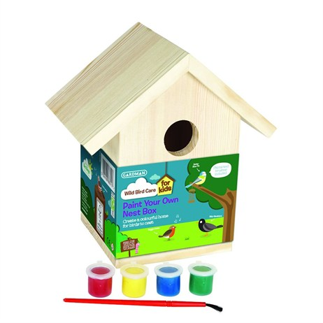 Gardman Paint Your Own Nest Box (A01910)