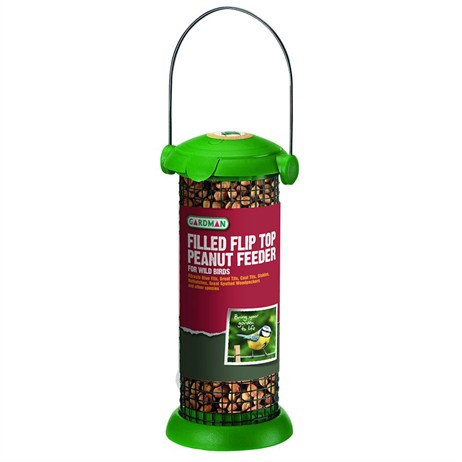 Gardman Filled Flip Top Peanut Feeder (A02231)