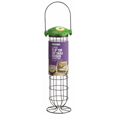 Gardman Large Flip Top Fat Snax Feeder (A04243)