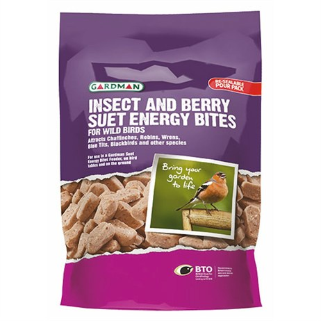 Gardman Insect and Berry Suet Energy Bites (A04258)