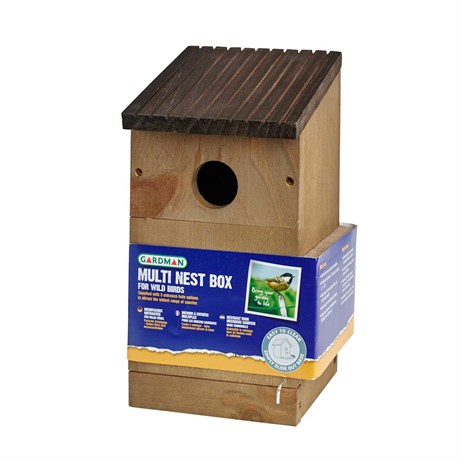 Gardman Slate Roof Multi Nest Box (A04381)