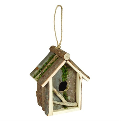 Gardman Rustic Square Roosting Hut (A04382)