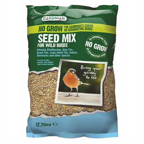 Gardman No Grow Seed Mix 12.75kg (A05618)