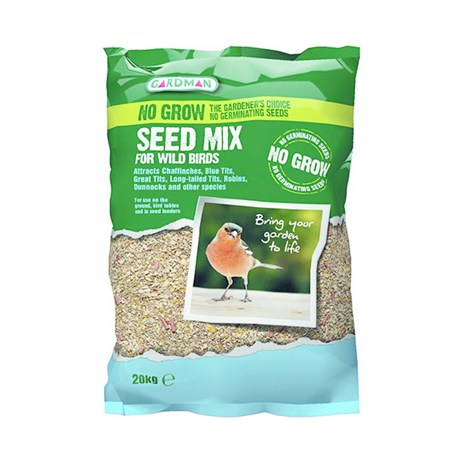 Gardman No Grow Seed Mix 20kg (A05619)