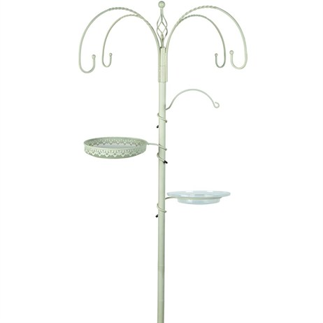 Gardman Decorative Feeding Station - Cream (A09713)
