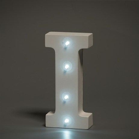 Up in Lights Alphabet Letter Light - I