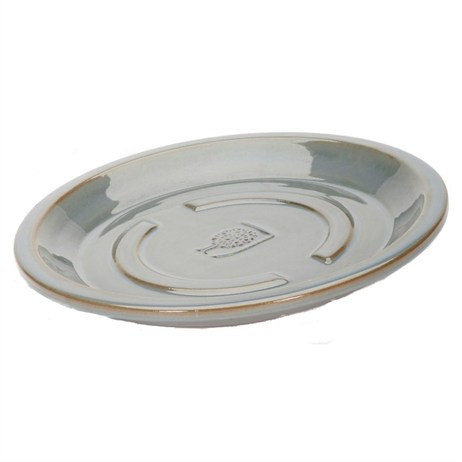 Apta RHS Antique Grey Saucer 22cm (RHGYSA)