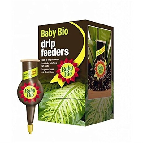 Bayer Baby Bio 4 Drip Feeders 40ml x 4