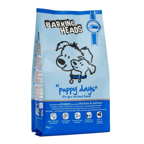 Barking Heads Puppy Days Dry Dog Food (Chicken & Salmon) 6kg