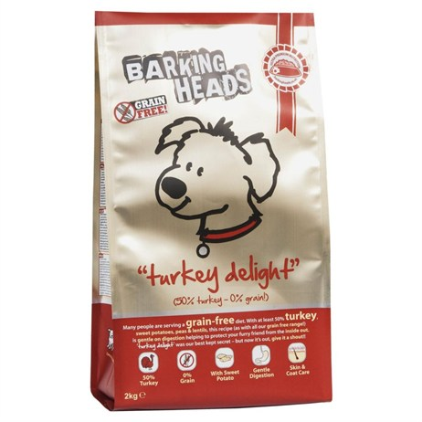 Barking Heads Grain-Free Turkey Delight Dry Dog Food (Turkey) 6kg