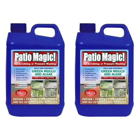 Promotion! Buy 2 Patio Magic 5ltr for Only £35! - ONLINE EXCLUSIVE