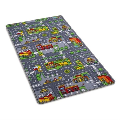 City Plan Children's Play Mat 80 x 120cm